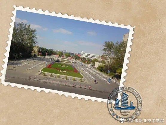 想摘取了最美好的校园景色。做成邮票,盖上邮戳。今天一并