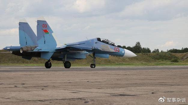 最强苏-30战斗机出现,白俄罗斯部署苏-30SM,专门为空战设计