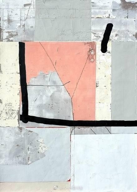 法国画家Antoine Puisais的抽象作品
