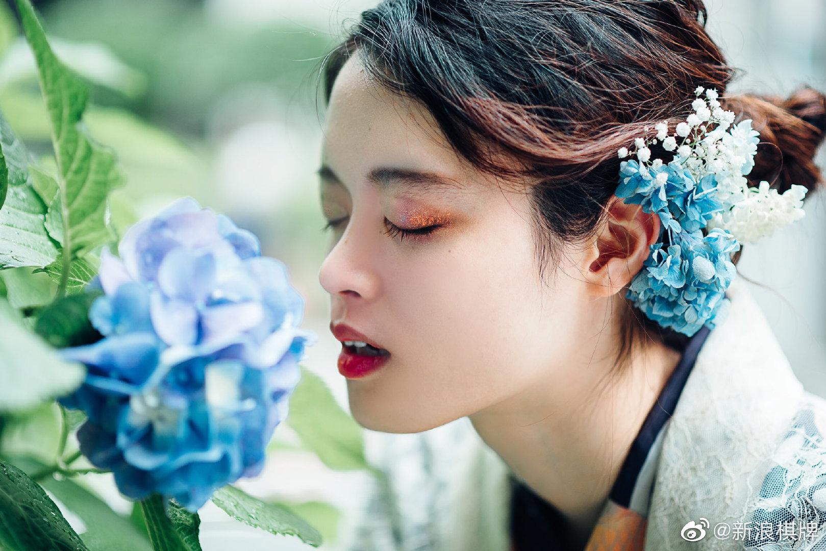 蝉鸣的夏季,我想遇见你~图片来源:Twitterわさび