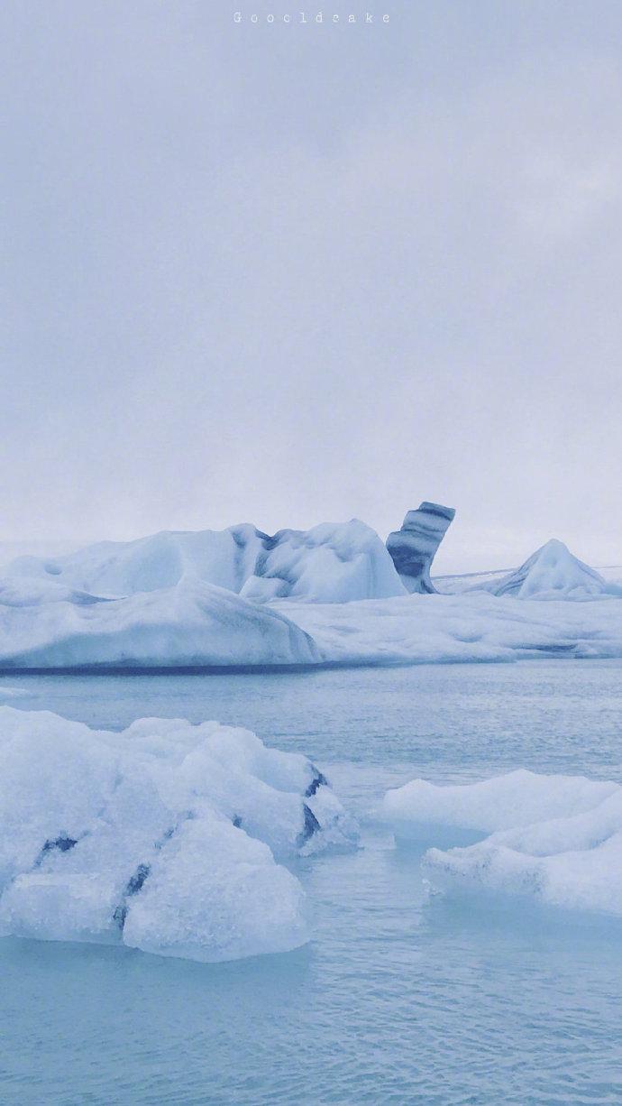 冰岛——冰河湖💦