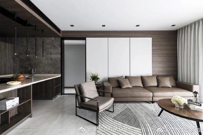 150m²现代简约风 | 中性色打造格调住宅家;