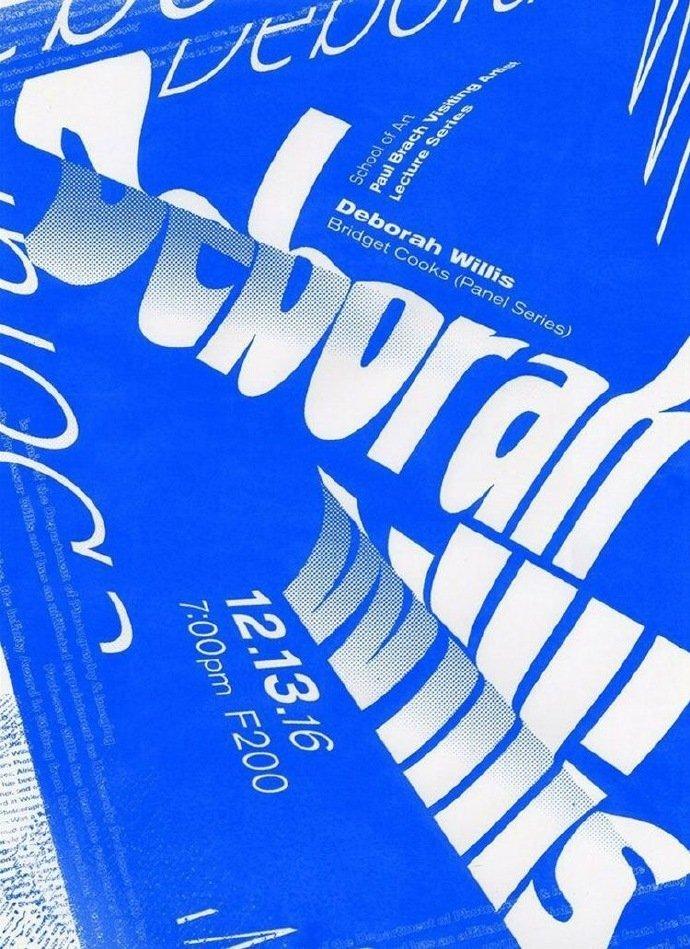 蓝色系创意海报设计,没有灵感就看一下~