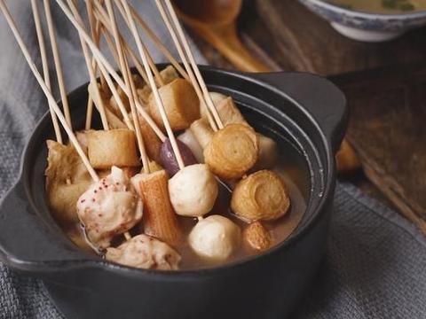 日式关东煮,调料简单不复杂,放假早上做,中午吃,煲剧零食必备