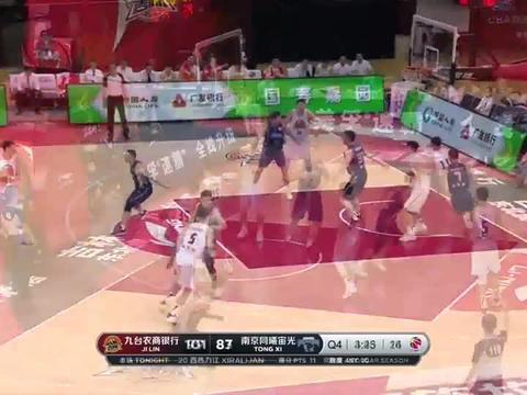 宝哥CBA:代怀博27分5篮板吉林105-97同曦