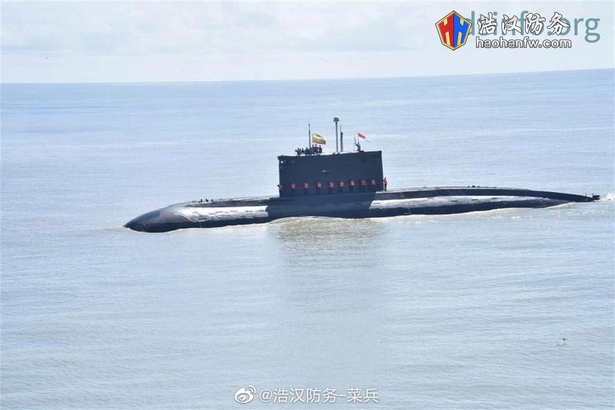 """缅甸海军"""" Sea Shield-2020""""大型演习于2020年10月15日在孟加拉湾举"""