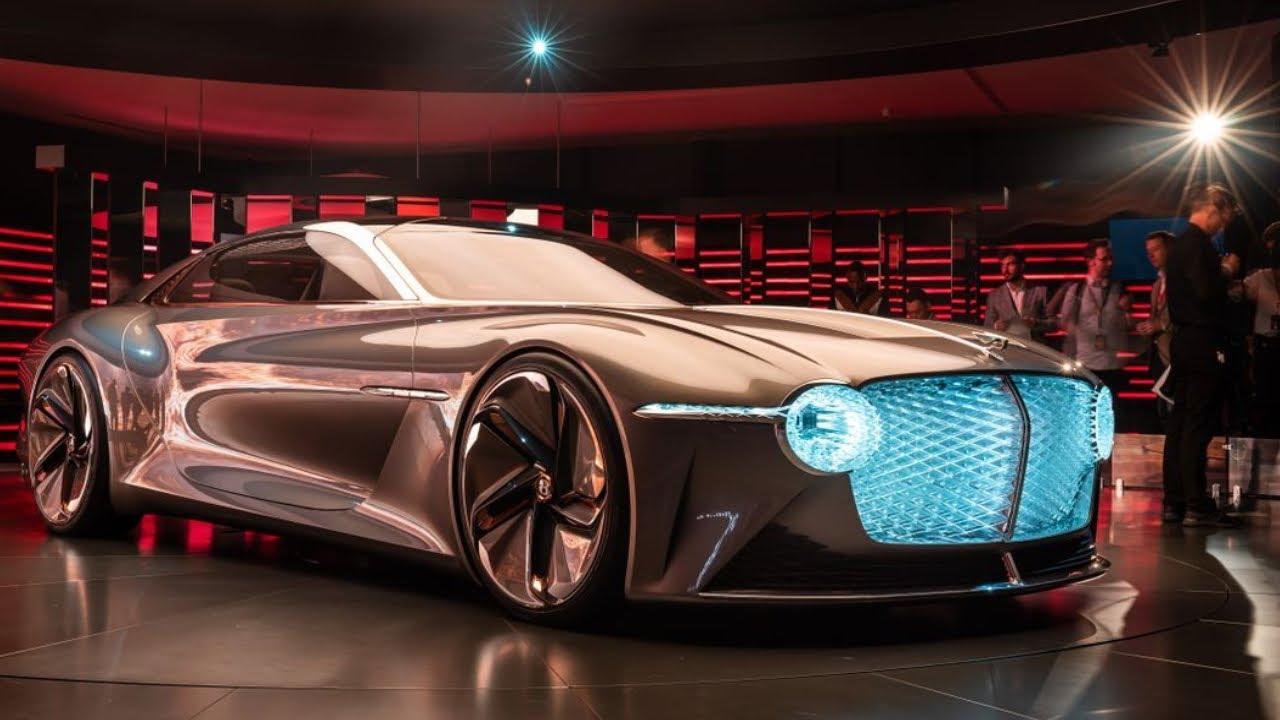 宾利EXP 100 GT概念车亮相