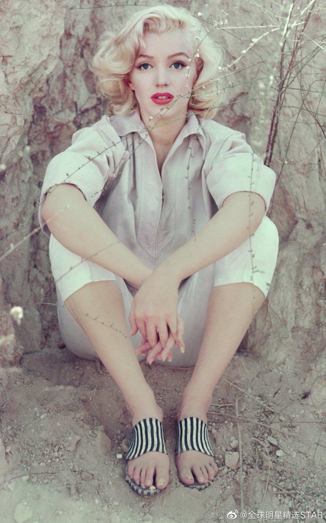 美国好莱坞巨星玛丽莲·梦露(1926年—1962年)