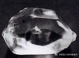The Jonker Diamond (琼格尔钻石)原石重达726克拉