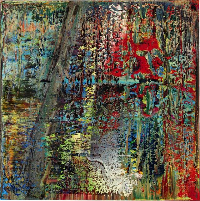 德国艺术大家格哈德·里希特的抽象画系列