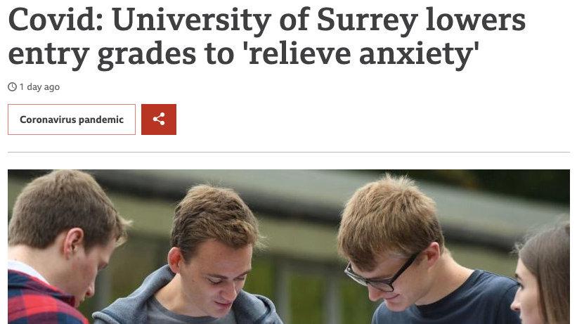 重磅曝光英国名校本科录取降分了!申请研究生也能抄底牛津剑桥?