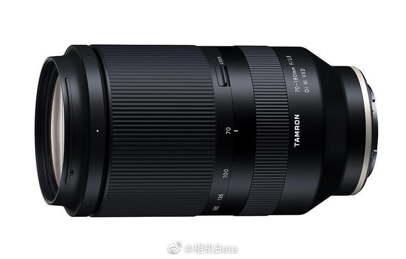 腾龙FE 70-180mm F/2.8 Di III VXD规格参数来了