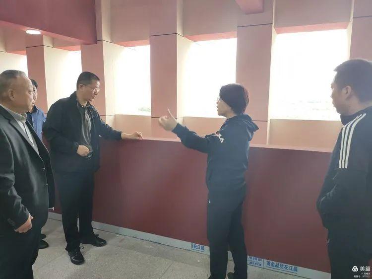 高陵区政府领导调研教育项目建设工作