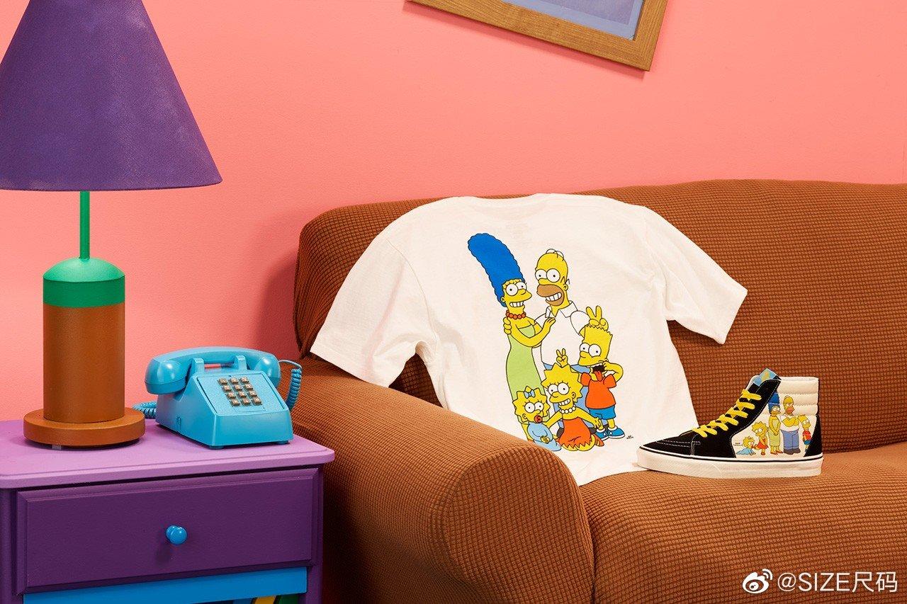 The Simpsons x Vans 合作系列正式公布,包含 Sk8-Hi,Old Skool