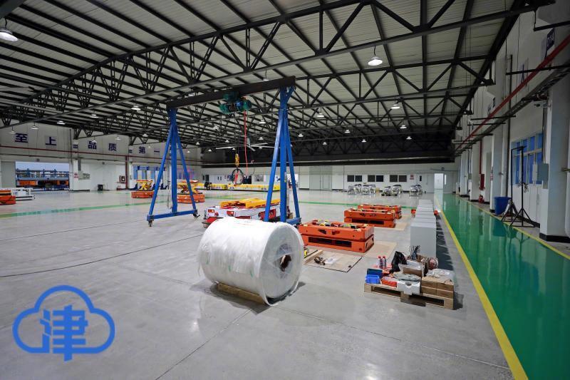 6个小时布局一个野战方舱医院 AGV重载机器人真智能