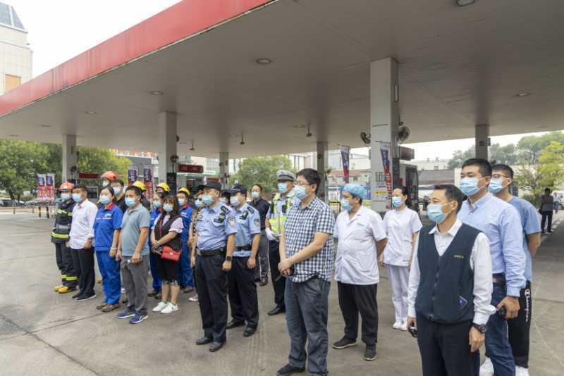 南开区开展危险化学品事故应急演练