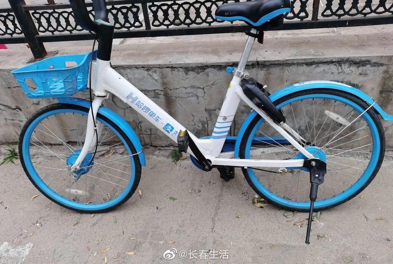 网友爆料:今天出门,寻思骑个单车