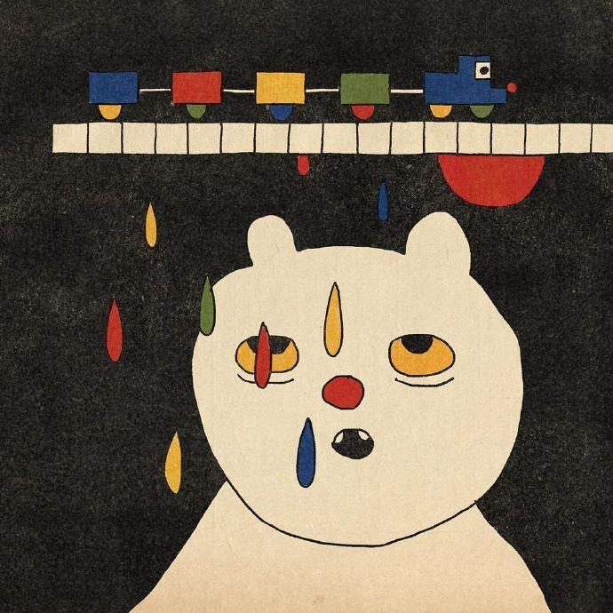 复古插画 有一种小时候看动画片的感觉 用来当壁纸心情都会好