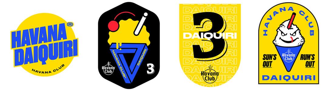 Havana Club Daiquiri甜点甜品logo设计及品牌VI设计