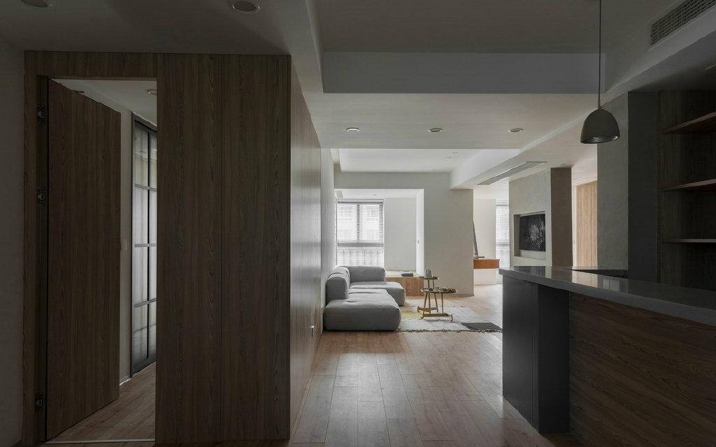 极简风三居室,要的就是这种纯净自然与舒适的生活方式!
