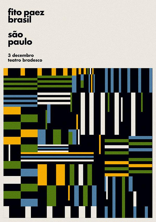 一组图形主题海报设计,让人舒适的配色~:Max Rompo