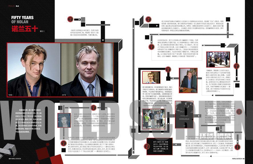 《环球银幕》7月焦点 | 克里斯托弗·诺兰——诺兰三宝、诺兰荣耀、诺