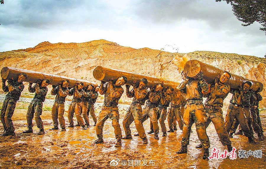 牢记宗旨 铸盾陇原——武警甘肃省总队开展实战化训练纪实