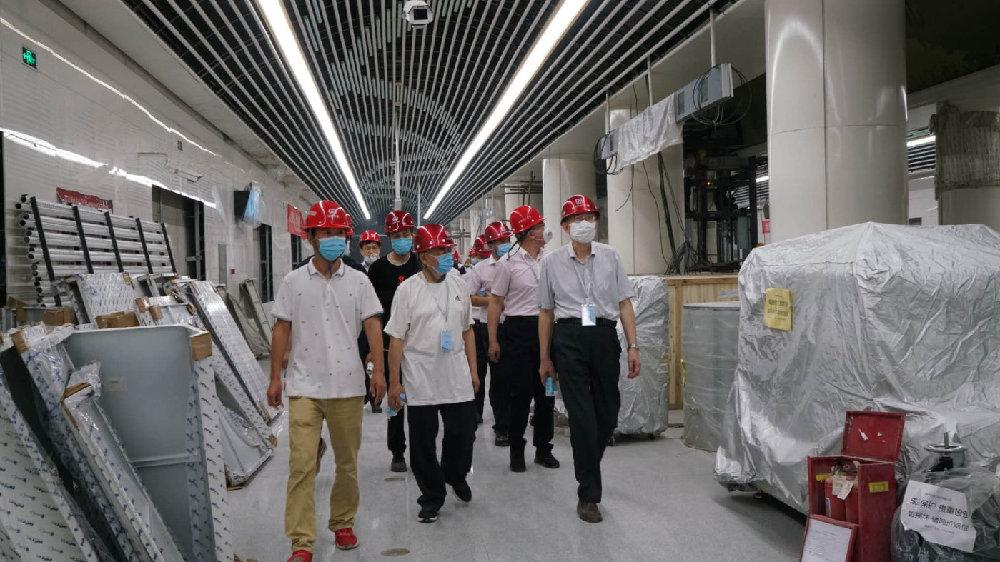 """石家庄地铁2号线一期工程通过专家""""预评审""""!各项工程加紧冲刺"""