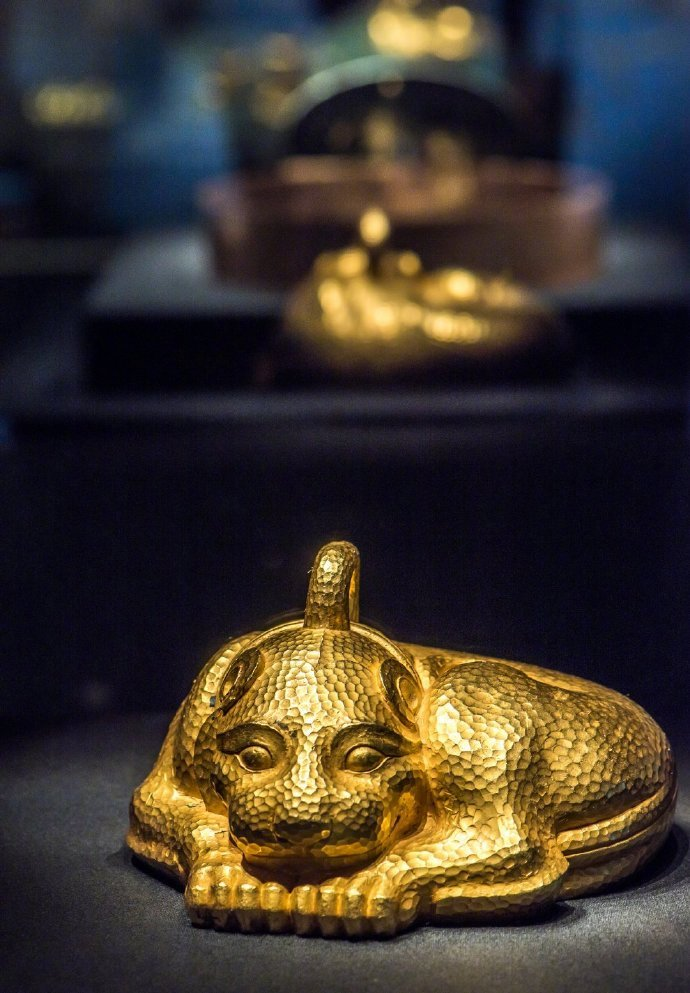 中国考古界最重的金器:西汉金兽