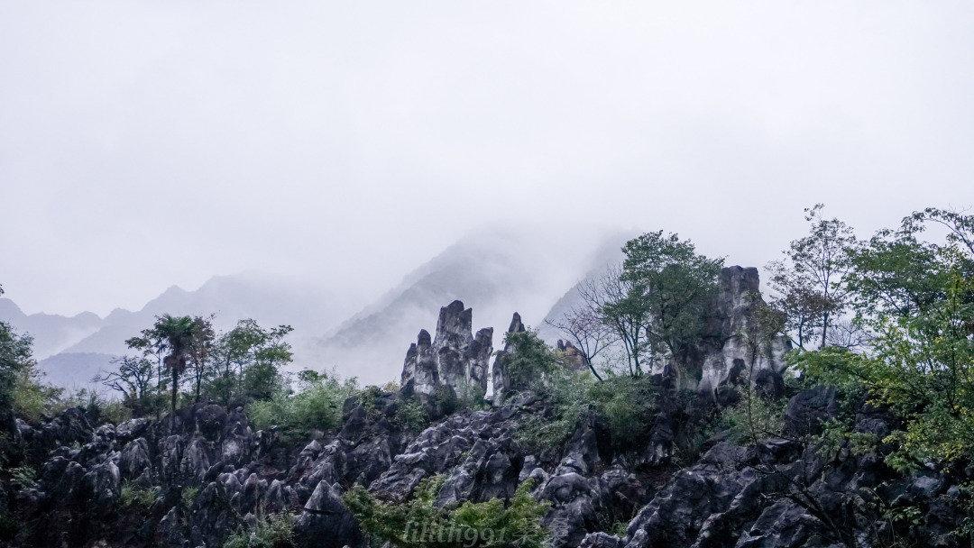 千岛湖石林景区由狮子山和象背山组成,山间峡谷幽深,见之断魂