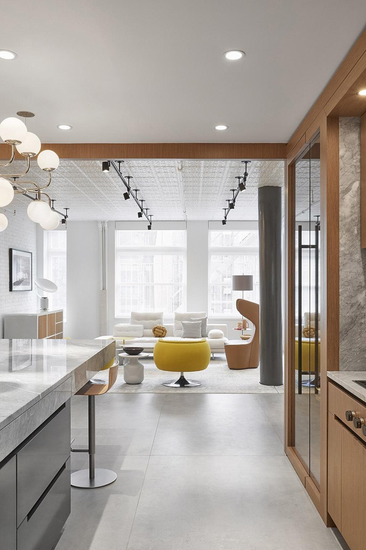 纽约 ,SoHo Loft公寓,自然中性的宁静温和感。(设计公司