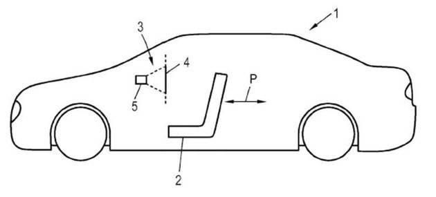 车内可投影,环抱式座舱,奥迪申请新一代车厢专利