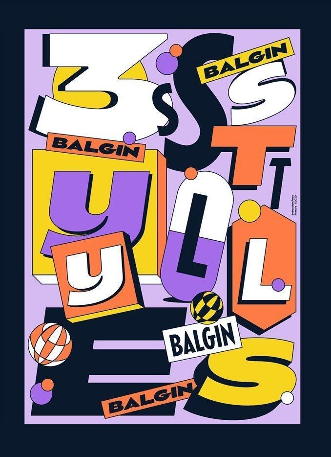 Balgin Font Family 趣味字体设计