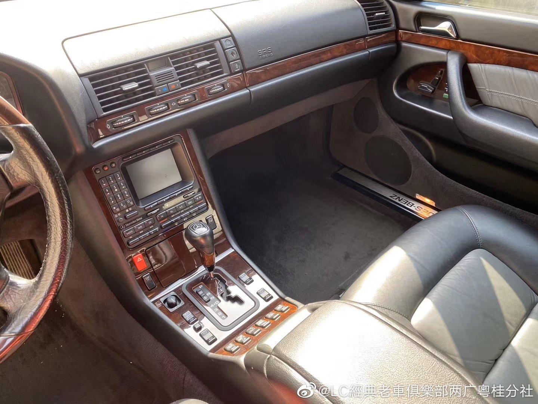 非常新的一台日版奔驰W140S600