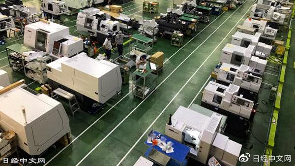 日本机床4月对华订单额减少26%