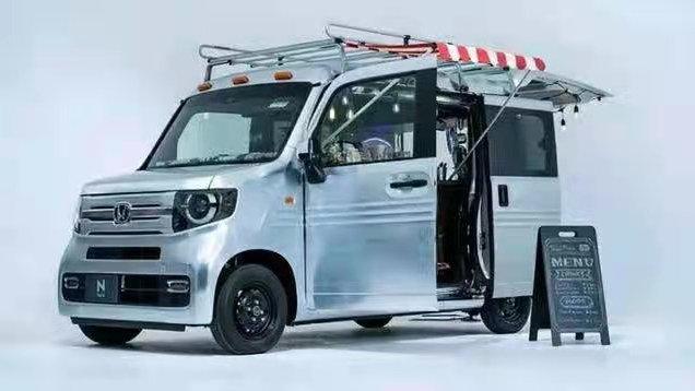 本田N-VAN概念车亮相