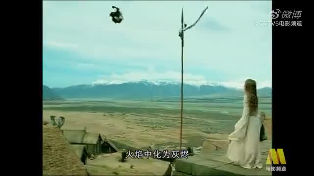 系列电影第二部正在CCTV6电影频道播出