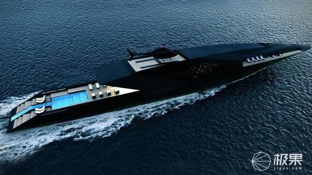 全球最极端的超级游艇!Black Swan黑天鹅游艇或正式量产