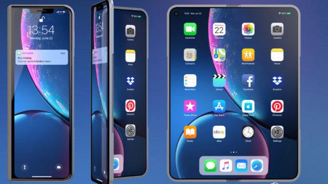苹果折叠屏手机真机外观曝光!自带平板电脑模式,或取代iPad