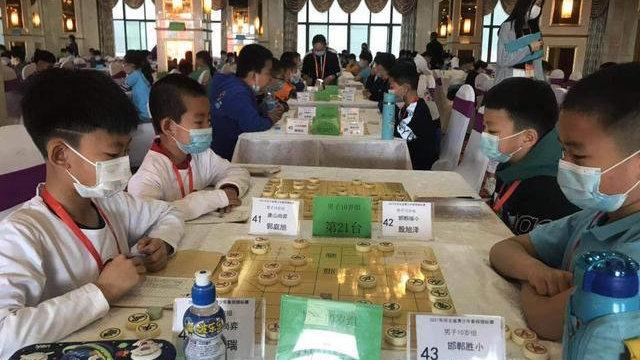 河北省青少年象棋锦标赛落幕