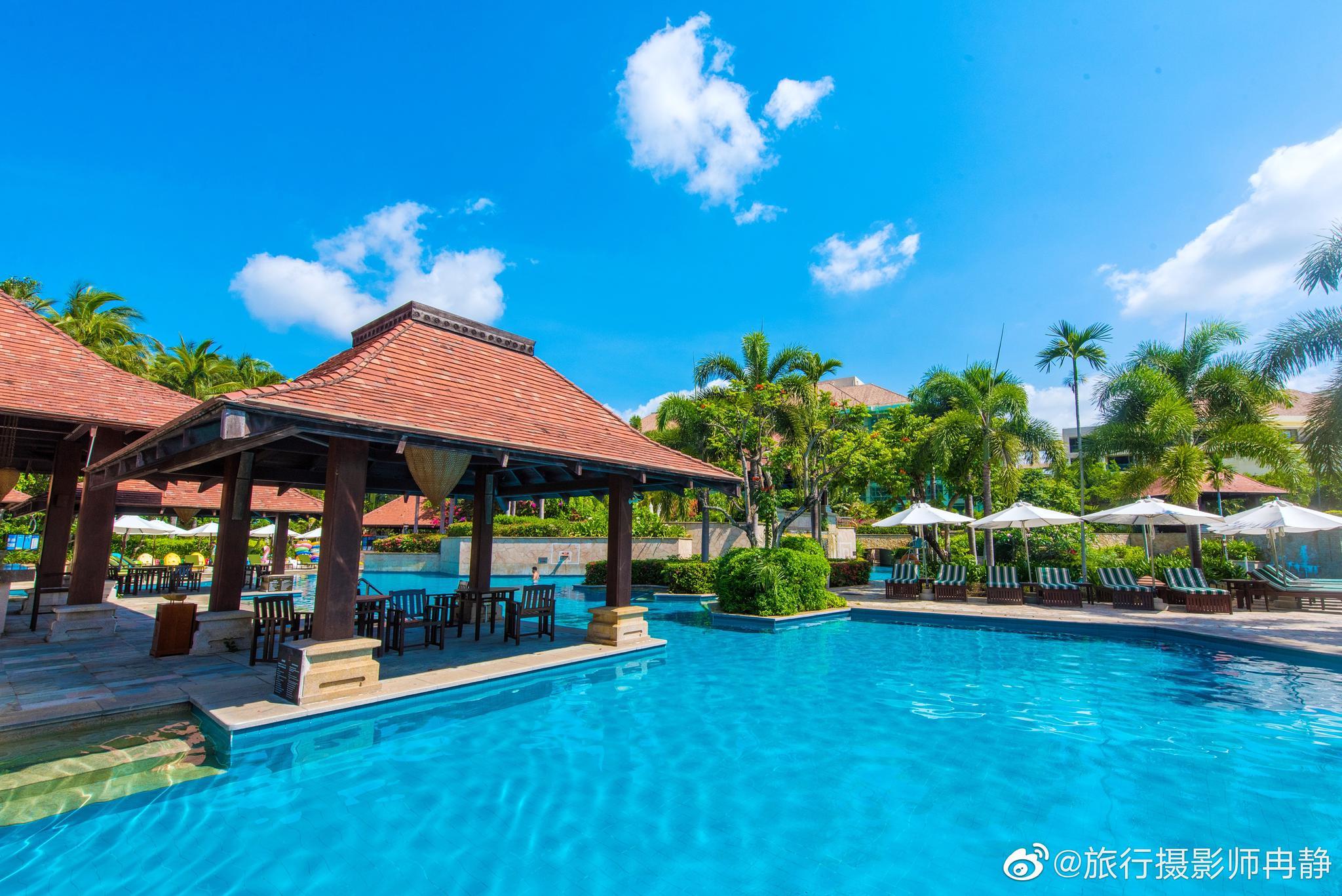 又来到亚龙湾度假区了🏖️依旧选择的是@三亚亚龙湾万豪度假酒店