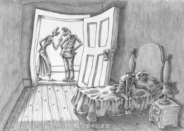 现实又黑暗的插画|阿根廷布宜诺斯艾利斯的插画师阿尔·玛格朗(Al Ma