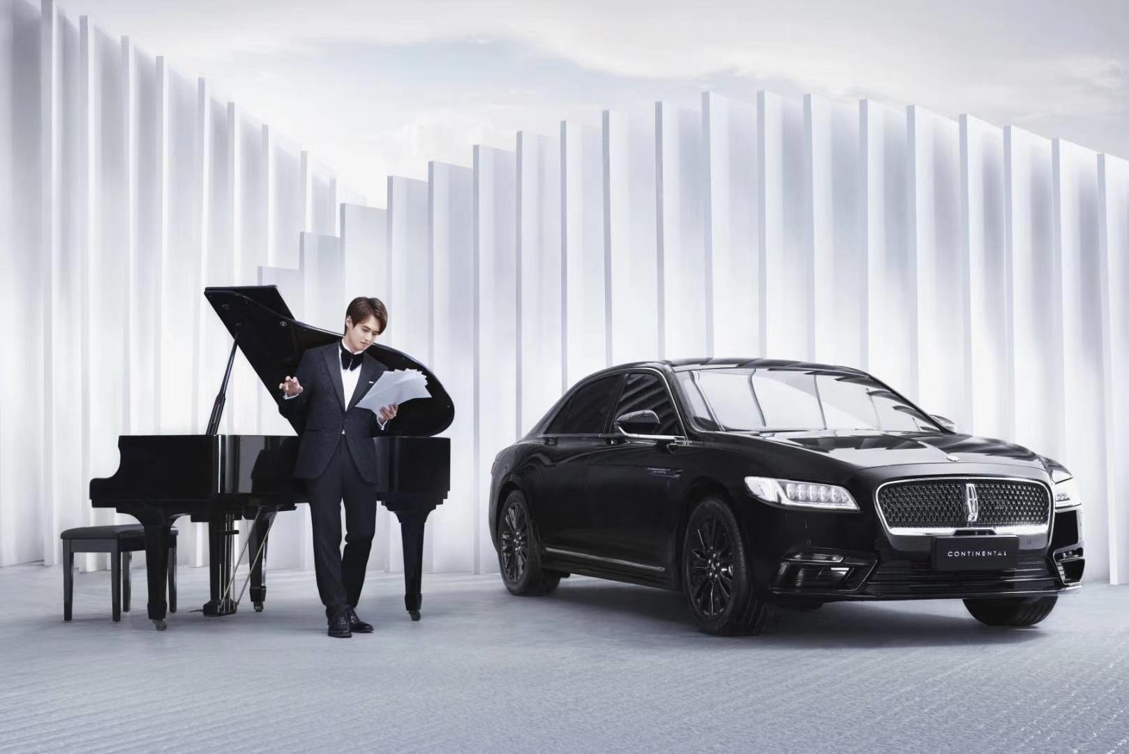 林肯 X 钢琴家林肯大陆MONO限量版携手青年钢琴家张浩天黑白两道