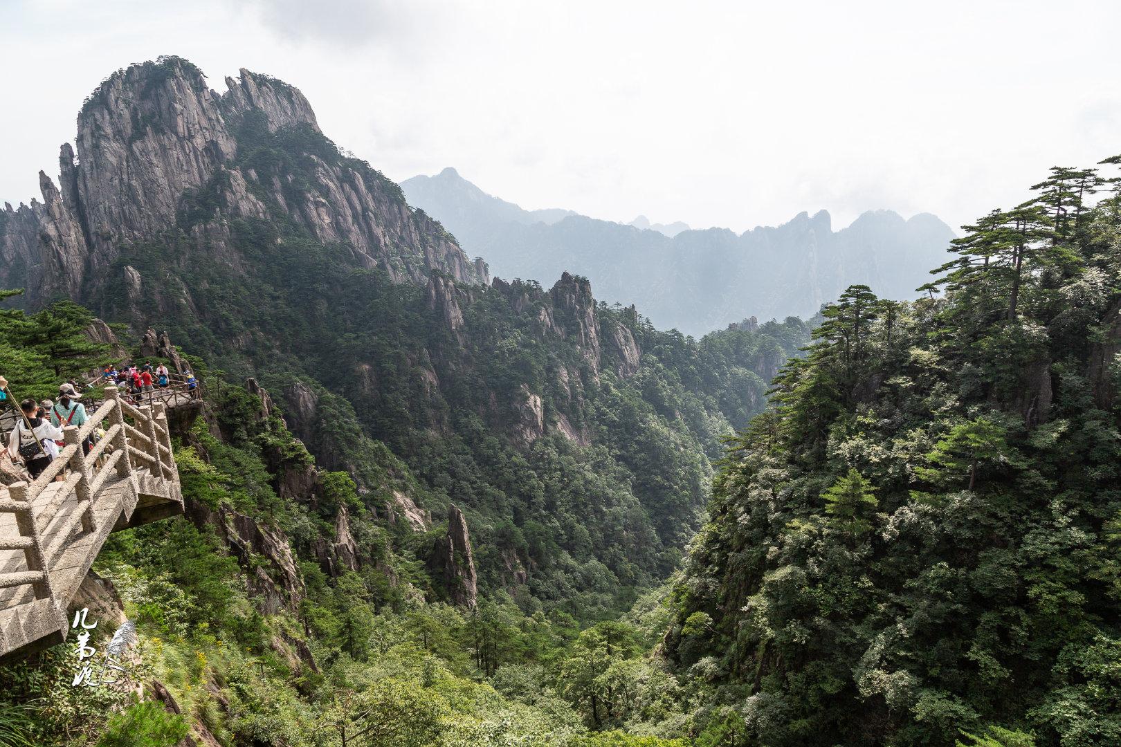 无需多言的黄山(一)《送温处士归黄山白鹅峰旧居》——李白 黄山