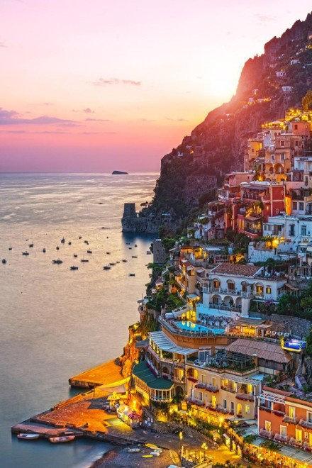 最美的地中海小城——波西塔诺!
