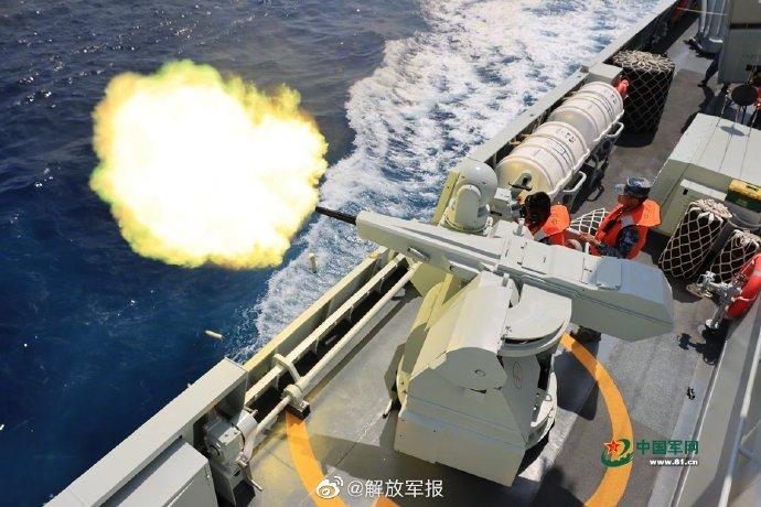 直击南部战区海军某舰艇编队实战化训练