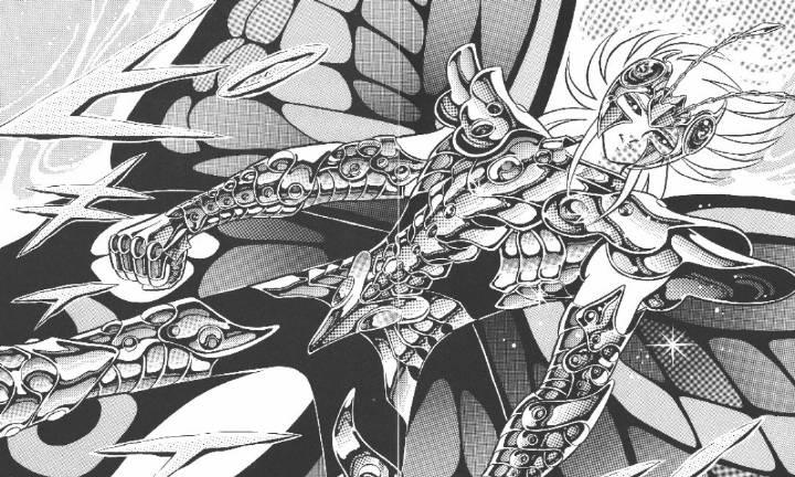 『车田正美』原作漫画《圣斗士星矢》第75话 死界之蝶!妖精