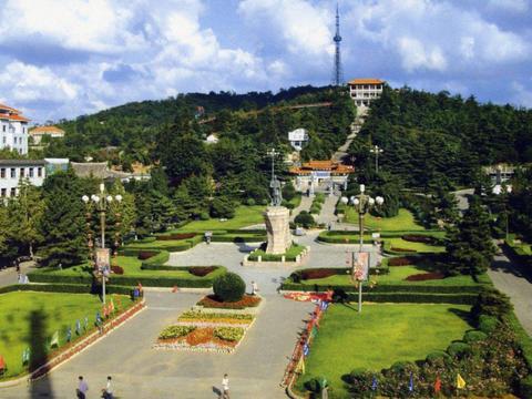"""山东耗资5.75亿的公园,被称威海""""圆明园"""",门票免费"""