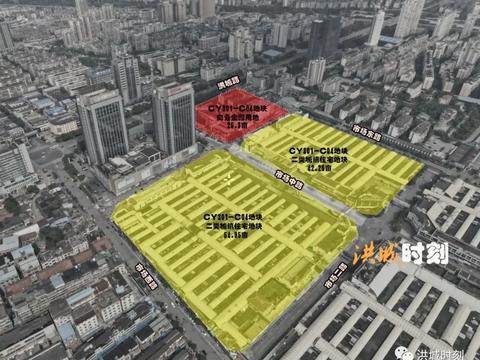 老洪大地块将以住宅开发为主!这几个市场远期将搬迁!