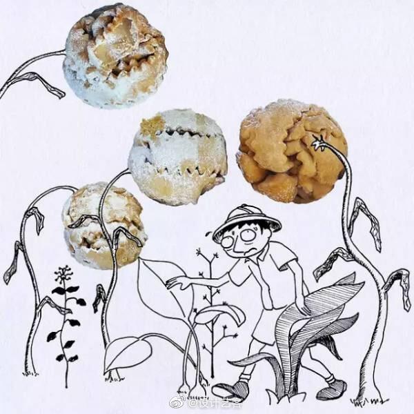 创意下午茶,不会做甜点的插画师不是好司机 …